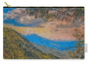 Distant Mountains - Digital Impression Paint Carry-all Pouch