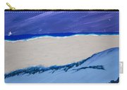 Distant Sailboat Carry-all Pouch by Melissa Dawn