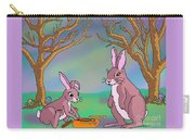Distracted Easter Bunnies Carry-all Pouch