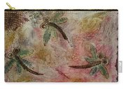 Rustic Dragonflies Pinks Carry-all Pouch
