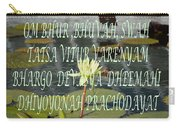Divine Gayatri Mantra Carry-all Pouch