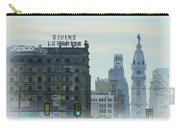 Divine Lorraine And City Hall - Philadelphia Carry-all Pouch