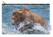 Diving For Salmon Carry-all Pouch