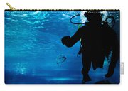 Diving In The Ocean Underwater Carry-all Pouch