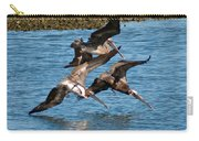 Diving Pelicans Carry-all Pouch