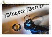 Divorce Decree Carry-all Pouch