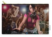 Dj Girl Carry-all Pouch