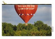 Do All To The Glory Of God Balloon Carry-all Pouch