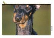 Doberman Pinscher Dog Carry-all Pouch
