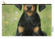 Doberman Pinscher Puppy Carry-all Pouch