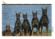 Doberman Pinschers Carry-all Pouch