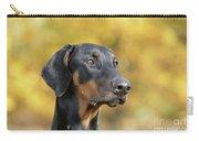 Dobermann Dog, In Autumn Carry-all Pouch