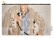 Doc. Brown Carry-all Pouch by Ayse Deniz