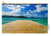 Dock And Beautiful Water Carry-all Pouch
