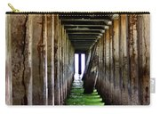 Dock Of The Bay Carry-all Pouch by Bill Gallagher