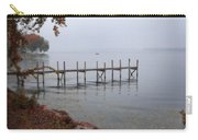 Dock On A Lake In Autumn Carry-all Pouch