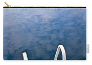 Dock On Calm Lake In Cottage Country Carry-all Pouch by Elena Elisseeva