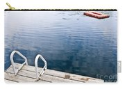 Dock On Calm Summer Lake Carry-all Pouch