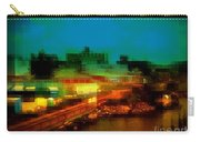 Dock On The East River - New York Carry-all Pouch
