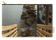 Dock Sea Lions Astoria Or 1 A Carry-all Pouch