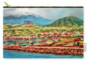 Docked In St. Kitts Carry-all Pouch