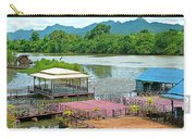 Docking Area On River Kwai In Kanchanaburi-thailand Carry-all Pouch