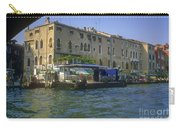 Docks On The Grand Canal Carry-all Pouch