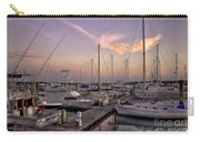 Dockside Sunset In Beaufort South Carolina Carry-all Pouch by Reid Callaway