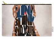 Doctor Who Inspired Tenth Doctor's Typographic Artwork Carry-all Pouch