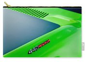 Dodge Challenger 440 Magnum Rt Hood Emblem Carry-all Pouch