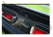 Dodge Challenger 440 Magnum Rt Taillight Emblem Carry-all Pouch by Jill Reger