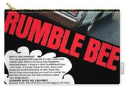 Dodge Coronet Super Bee - Rumble Bee Carry-all Pouch