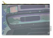 Dodge Ram With Decreased Color Value Carry-all Pouch