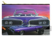 Dodge Rt Double Exposure Purple Sunset Carry-all Pouch