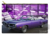 Dodge Rt Purple Abstract Background Carry-all Pouch