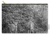 Doe A Deer Bw Carry-all Pouch