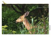 Doe In Tall Grass Carry-all Pouch