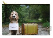 Dog And Suitcase Carry-all Pouch