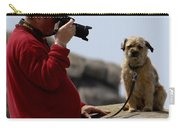 Dog Being Photographed Carry-all Pouch