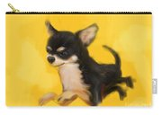 Dog Chihuahua Yellow Splash Carry-all Pouch