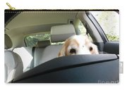 Dog Driving A Car Carry-all Pouch