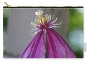 Dog Eared Clematis Carry-all Pouch