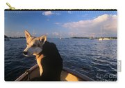 Dog In A Dingy At Put-in-bay Harbor Carry-all Pouch