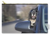 Dog In The Car Window Carry-all Pouch