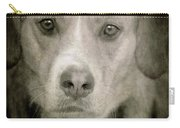 Dog Posing Carry-all Pouch