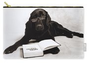 Dog Reading James Thurber Carry-all Pouch