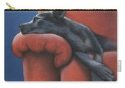 Dog Tired Carry-all Pouch by Cynthia House
