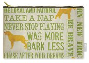 Dog Wisdom Carry-all Pouch
