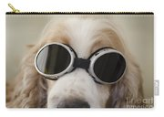 Dog With Eyeglasses Carry-all Pouch