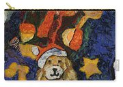Doggie Xmas Stocking 03 Photo Art Carry-all Pouch